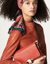 Massimo Dutti (Zara)Women 100% Leather  Napa/Sheepskin Jacket L/42 £250 New Tag