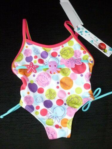 Boboli  Acqua Girls Swimming Costume Age 4 Years nwt
