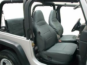 Excellent Details About Jeep Wrangler Tj Sahara 1997 2002 Charcoal Iggee S Leather Seat Cover Lamtechconsult Wood Chair Design Ideas Lamtechconsultcom