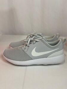 De acuerdo con oferta Cerdo  Nuevas Nike Roshe G Golf Shoes Pure Platino Gris Blanco AA1837-002 Modelo  Talla 9 | eBay