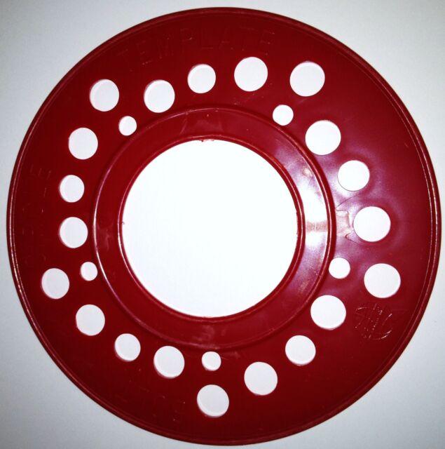 SAE 60 Lug Wheel Bolt Pattern Template Tool Guide Gauge Measure Best Wheel Bolt Pattern Tool