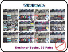 36 x Men Gents Quality Suit Summer Holiday Socks Wholesale Car Boot Trade