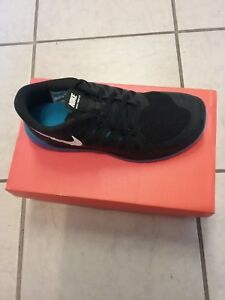 9aae301c6a6a Image is loading Nike-Free-5-0-GS-Sneakers-Black-Boys-