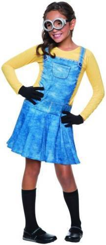 Rubie's Girls Child FEMALE MINION Despicable Me Minions Costume~5-7 year old~Med