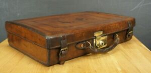 Solid-Leather-Antique-Large-Pistol-Case-Peal-amp-Co