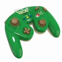 Wired Fight Pad for Wii U - LINK Controller PDP Super Smash Bros NEW