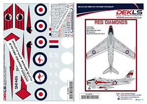 1-32-Avon-Sabre-Aerobatic-Teams-039-Red-Diamonds-039-Decals