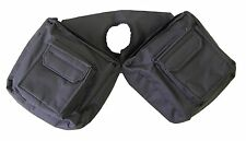 JT TOUGH 1 BLACK Trail Saddle INSULATED Horn Bag Pommel Horse Tack