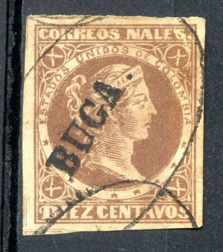 COLOMBIA Yvert # 55, BUCA CANCEL
