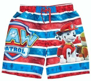 8a85e8bdc3 PAW PATROL CHASE MARSHALL UPF-50+ Bathing Suit Swim Trunks Boys Size ...