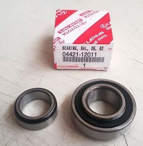 Details about Genuine OEM Toyota AE86 rear axle shaft bearing RH or LH -  04421-12011