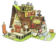 Gravity Falls, Mystery Shack - Paper Toy - DIY Paper Craft Kit - 3D Model Paper