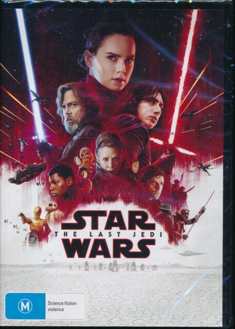 Star Wars The Last Jedi DVD NEW Region 4 Carrie Fisher