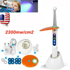 New Listingdental Cordless 1 Second Led Curing Light Cure Lamp 2300mwcm2 With Usb Charging