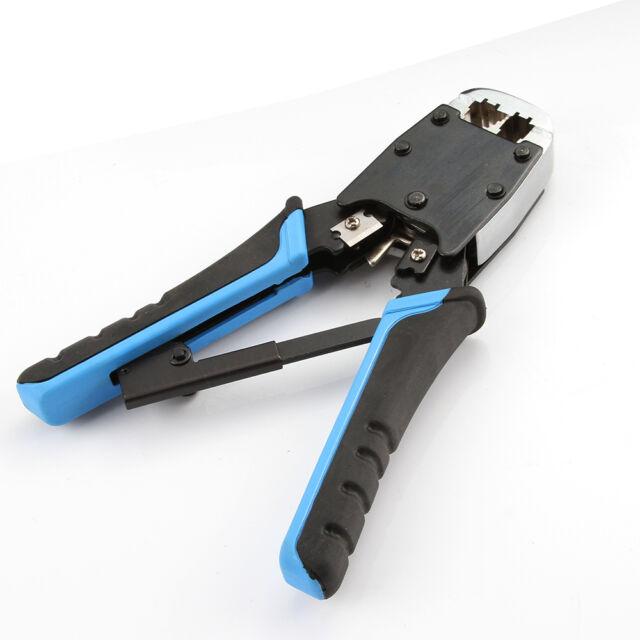 Professional Network Ethernet LAN Phone Crimper Crimp Tool RJ45 RJ12 RJ11 New
