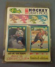 Vintage Classic 1991 Hockey Draft Picks Cards Set Limited Edition R081335