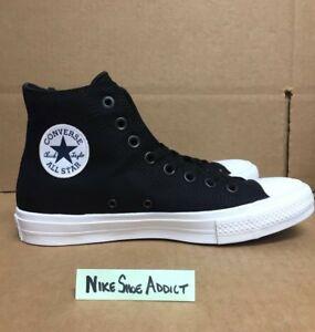 2da9833cf591 Converse All Star Chuck Taylor CT II 2 Hi High Black White 150143C ...