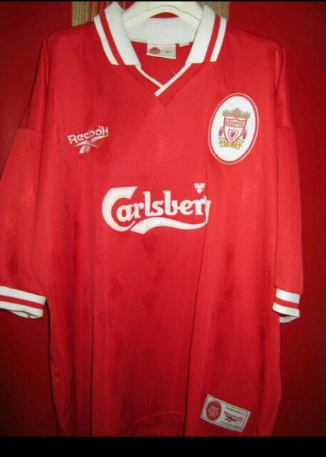 Maglia calcio Liverpool jersey shirt Premier league vintage Fußball-Trikot sport