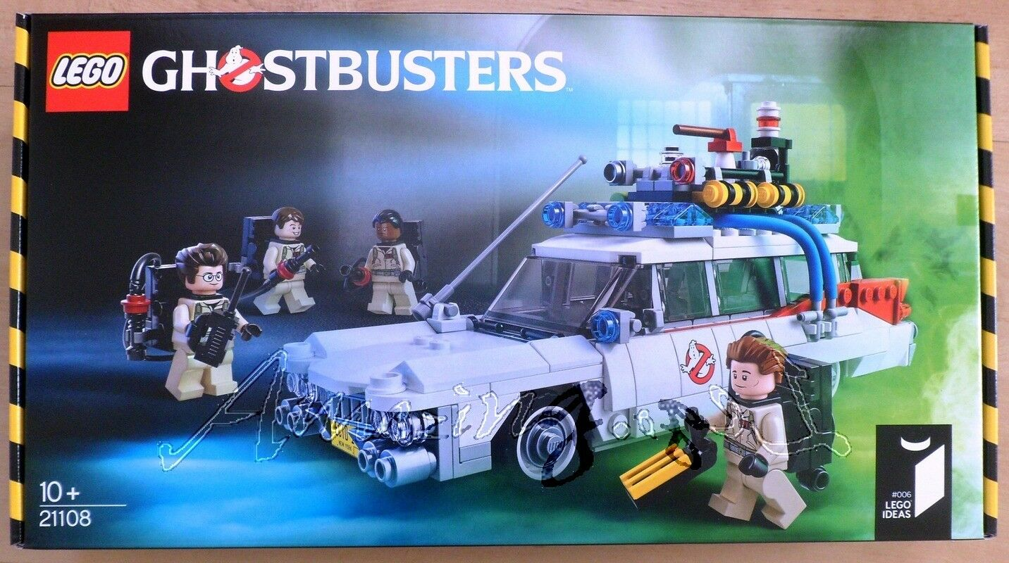 Discontinued Genuine New Lego Ecto-1 Car 21108 Ghost Busters Factory Sealed