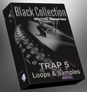 Trap Loops Black Collection Part 5 Ableton Logic Pro