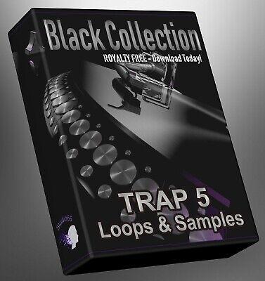 Trap Loops Black Collection Part 5 Ableton Logic Pro FLStudio Cubase