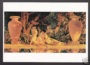 MAXFIELD-PARRISH-Garden-of-Allah-1918-PAINTING-ARTWORK-ART-MODERN-POSTCARD