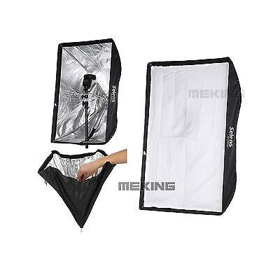 High Quality Selens S6090 Lighting umbrella softbox For Speedlite/Flash 60*90cm