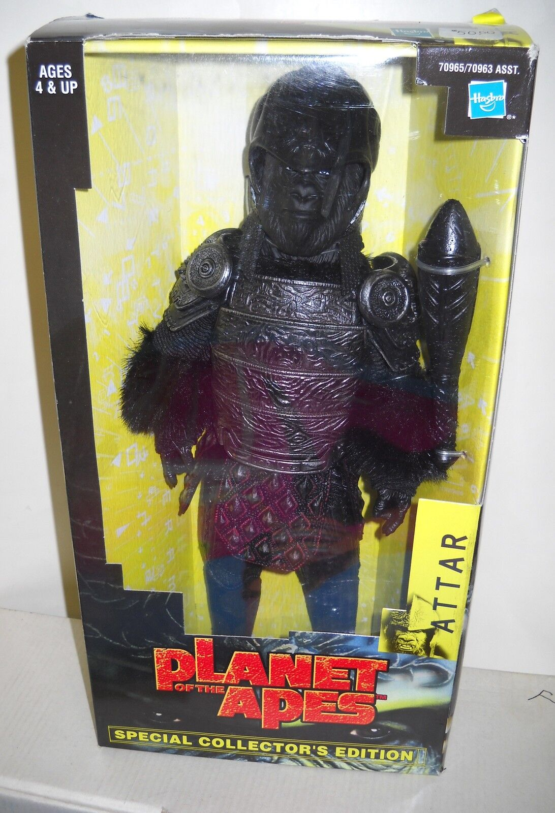 4489 NRFB Hasbro Planet of the Apes Movie Attar Special Collector's Edition