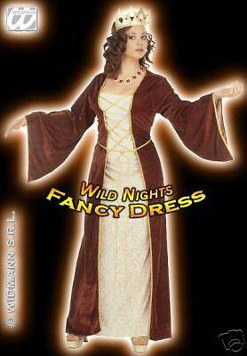 FANCY DRESS COSTUME = DELUXE VELVET MEDIEVAL PRINCESS