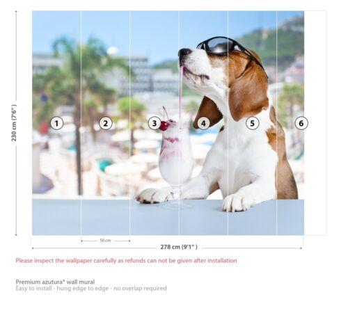 Beagle Dog Wall Mural Wallpaper WS-42228