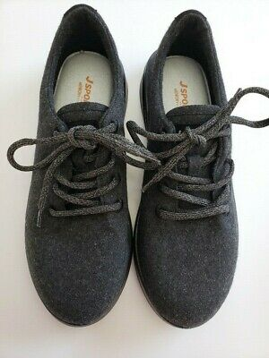 J Sport by Jambu Women/'s Crane Wool Oxford Shoes Lace Up Round Toe size 10