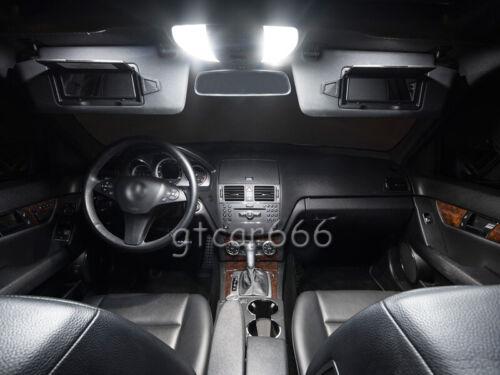 8Pcs Xenon White LED Interior Light Package Kit For Mazda MX-5 Miata 2016-2019
