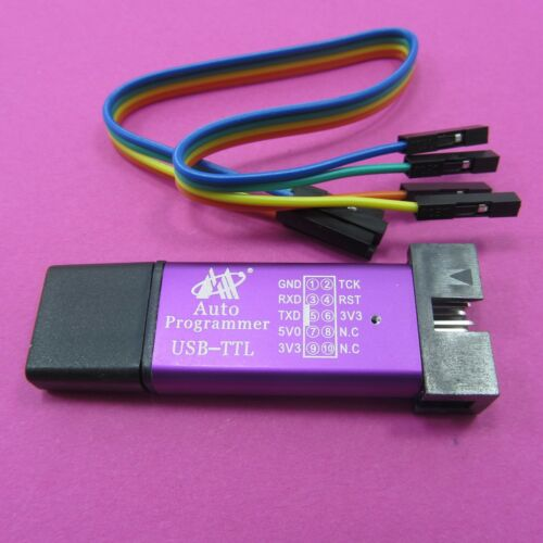 USB vers TTL Module 3.3 V 5 V MCU Auto programmeur STC Downloader CH340