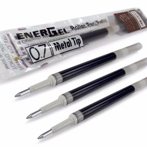 BL77//BL57//BL37 etc All Colours 4 x Pentel Energel 0.7mm Refill Metal Tip LR7