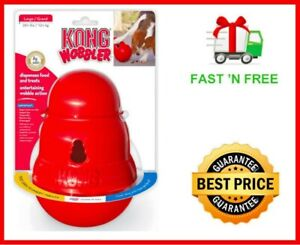KONG-Wobbler-Dog-Toy-Red-Large-PW1-FREE-amp-FAST-SHIPPING