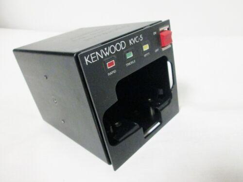 Kenwood KVC-5 Portable Vehicle Two Way Radio Battery Charger