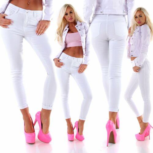11258 leggero donna Pantaloni Chino Treggings Stretch Skinny ALBERO Slimfit wollhose