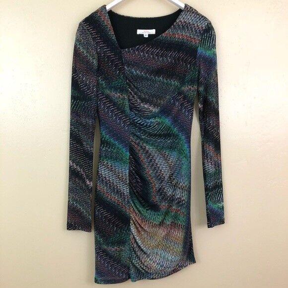 Trina Turk Phyllis Terramar Dress Size Petite PP Bodycon Party Multicolor Dress
