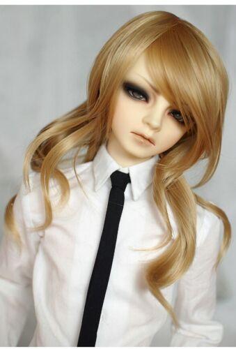"""LeekeWorld Misty Mint BJD MSD Long Wavy Wig 7-8/"""""""