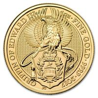 2017 Great Britain 1 oz Gold Queen's Beasts (The Griffin)