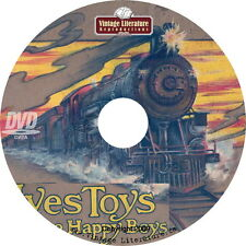 Vintage Ives Toy Train Catalogs on DVD