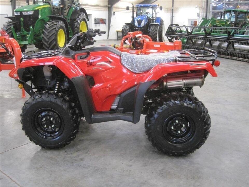 Andet, TRX 420 FA Luksus 4wd ATV, med alt avancered...