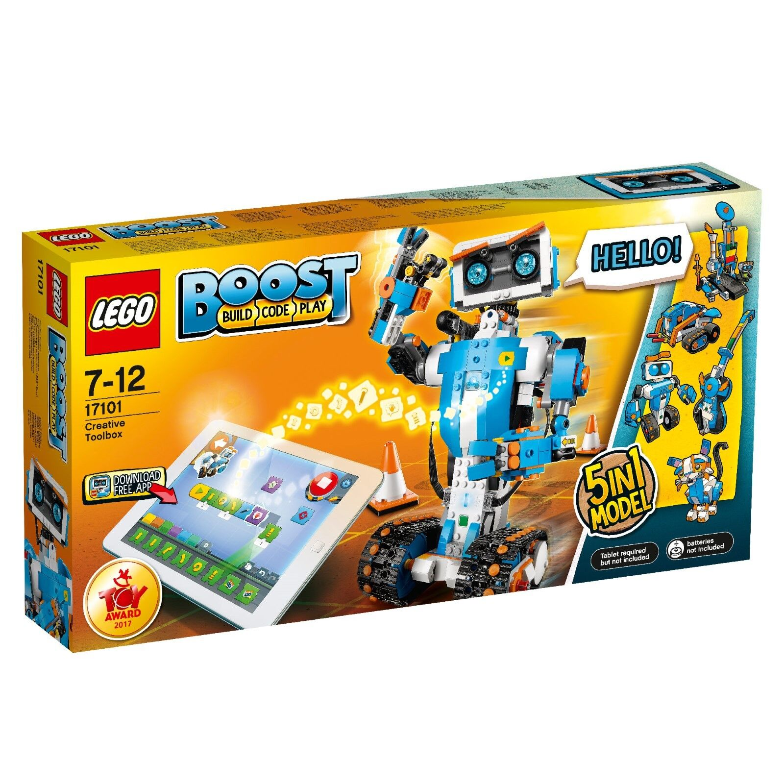 LEGO 17101 creativa wergzeugkasten elementi costitutivi, colorato