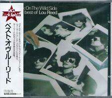 Lou Reed Best of Lou Reed Walk on The Wild side Japan CD w/obi B20D-41009