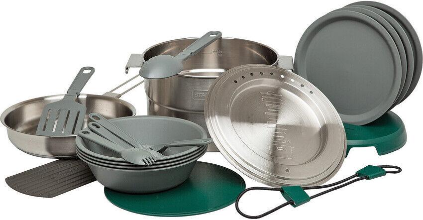 Stanley 21pc Full Kitchen Camping & Hiking Base Camp Cooking Set 2479014