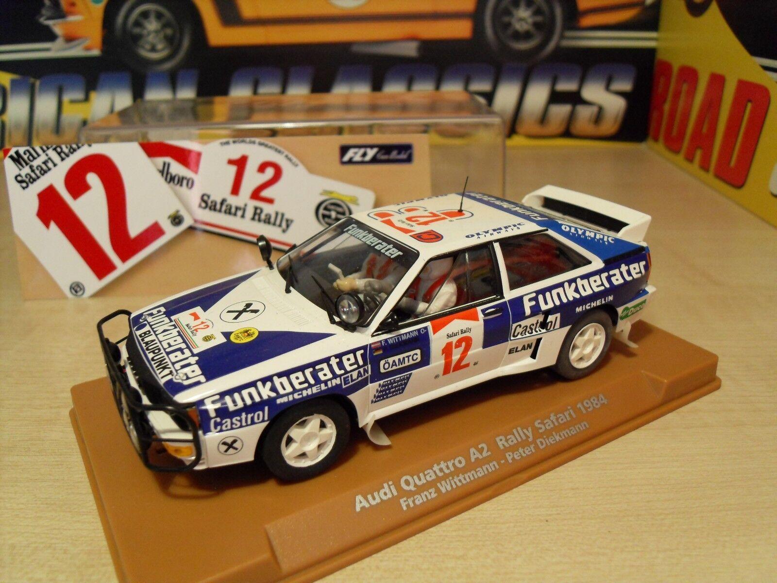 E-1901 Audi Quattro A2 'Rally Safari 1984' - Brand New in Box