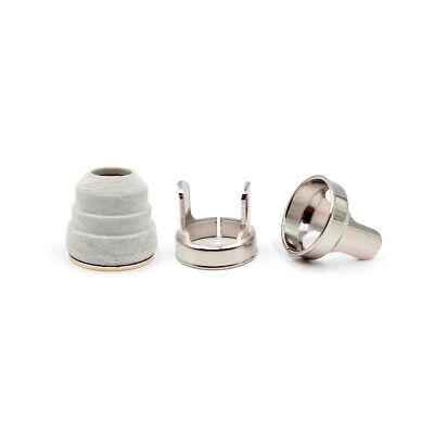 Plasma Torch Set for Trafimet Tips Electrode Nozzle Retaining Cup Standoff 24PK