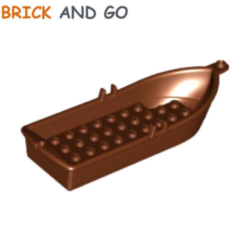marron brown 1 x LEGO 21301 Bateau Barque Rowing Boat 5x14x2 NEUF NEW