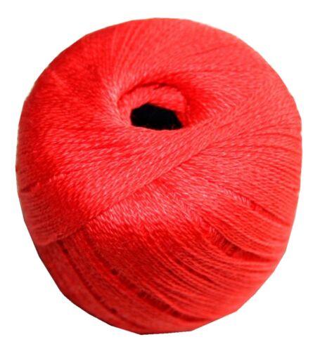 0881 Stopftwist Stopfgarn Baumwolle 8-fach mercerisiert 20 m rot