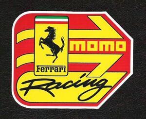 Momo Ferrari Racing 458 333 Sticker Vintage Inspired Sports Car Sponsor Ebay Any shape & size including custom die cut stickers! details about momo ferrari racing 458 333 sticker vintage inspired sports car sponsor